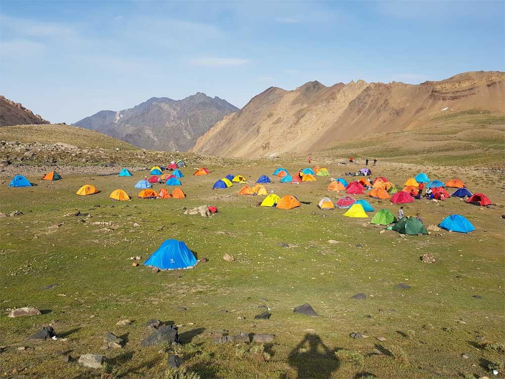 alamkooh صعود گروه کوهنوردی شرکت مهندسی تذرو افزار به علم کوه