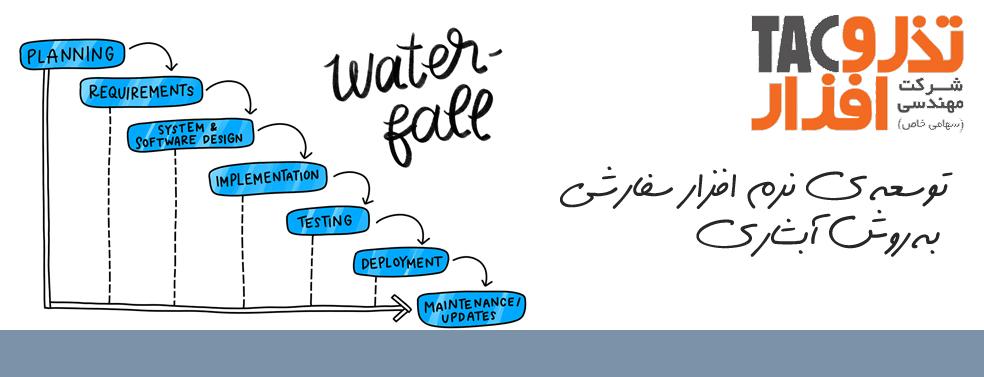 توسعه ی نرم افزار سفارشی به روش آبشاری
